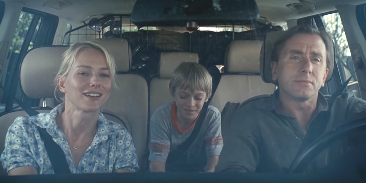 Naomi Watts, Devon Gearhart, and Tim Roth in Funny Games