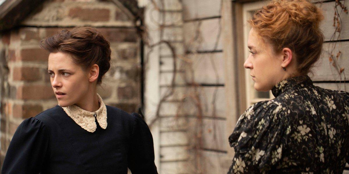 Kristen Stewart and Chloë Sevigny in Lizzie