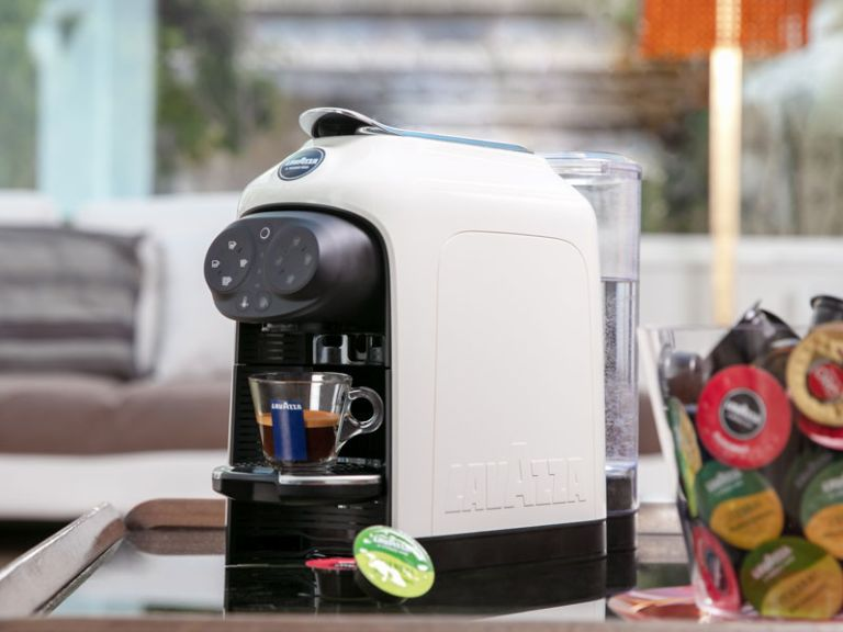Lavazza coffee machine in kitchen