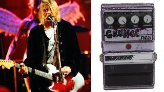 Kurt Cobain and Dave Grohl of Nirvana