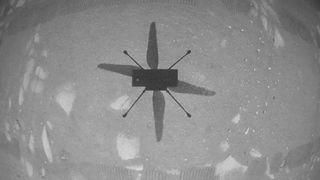 Ingenuity drone selfie