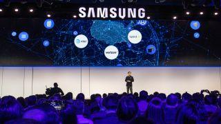 Samsung Galaxy S10 på CES 2019