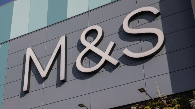 Marks and Spencer Group plc (M&S) sign is pictured on 18 September 2020 in Bracknell, United Kingdom.