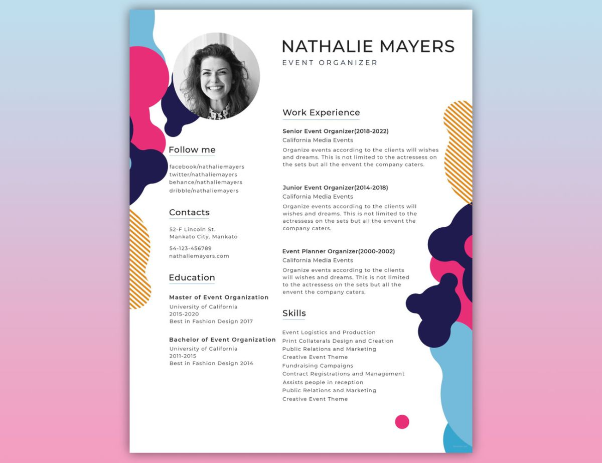 How To Create The Perfect Design Resume Creative Bloq