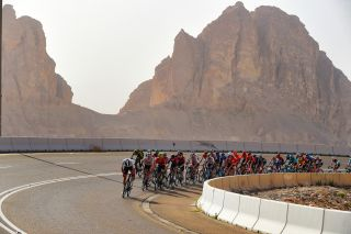 UAE Tour 2020 - 2nd Edition - 5th stage Al Ain - Jebel Hafeet 162 km - 27/02/2020 - Tadej Pogacar (SLO - UAE - Team Emirates) - Adam Yates (GBR - Mitchelton - Scott) - photo Dario Belingheri/BettiniPhoto©2020