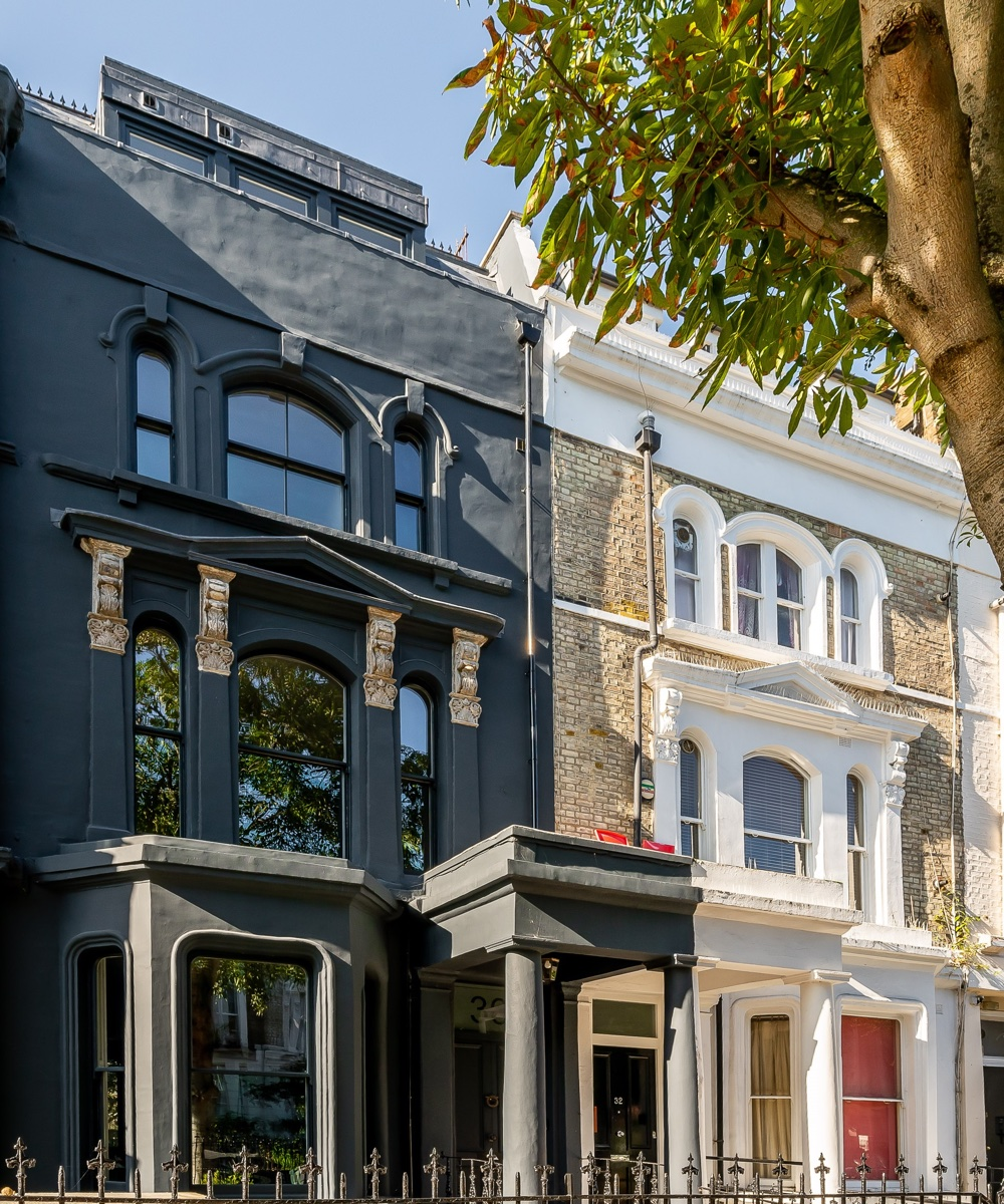 Notting Hill house for sale with stunning rooftop terrace