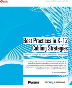 Best Practices in K-12 Cabling Strategies