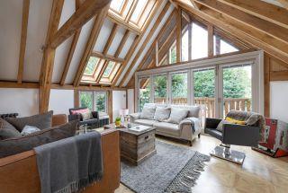 oak frame self build home built in 15 weeks
