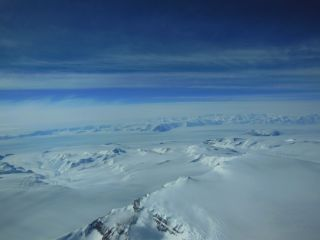 Antarctica Ice Sheet & Mountains