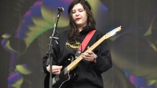 Lucy Dacus performs during the Okeechobee Music Festival at Sunshine Grove on March 08, 2020 in Okeechobee, Florida.