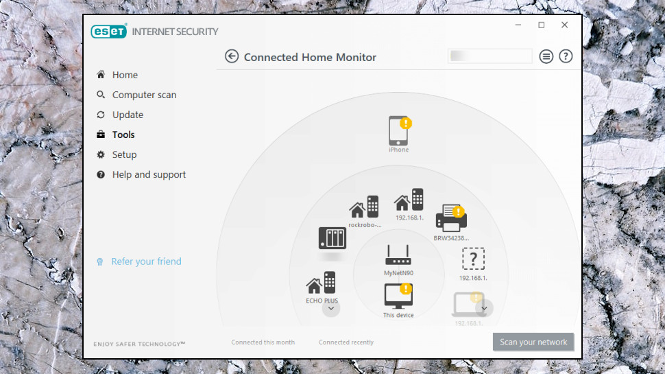 Connected Home Monitor