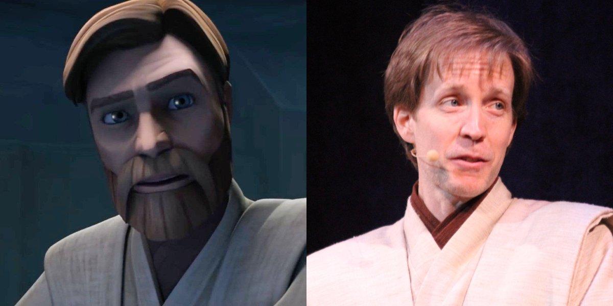 Obi-Wan Kenobi on Star Wars: The Clone Wars; James Arnold Taylor as Obi-Wan Kenobi