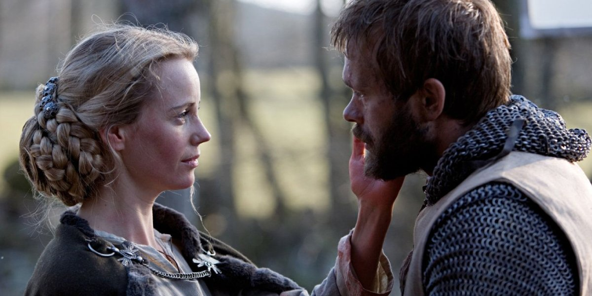 Sofia Helin and Joakim Nätterqvist in Arn: The Knight Templar