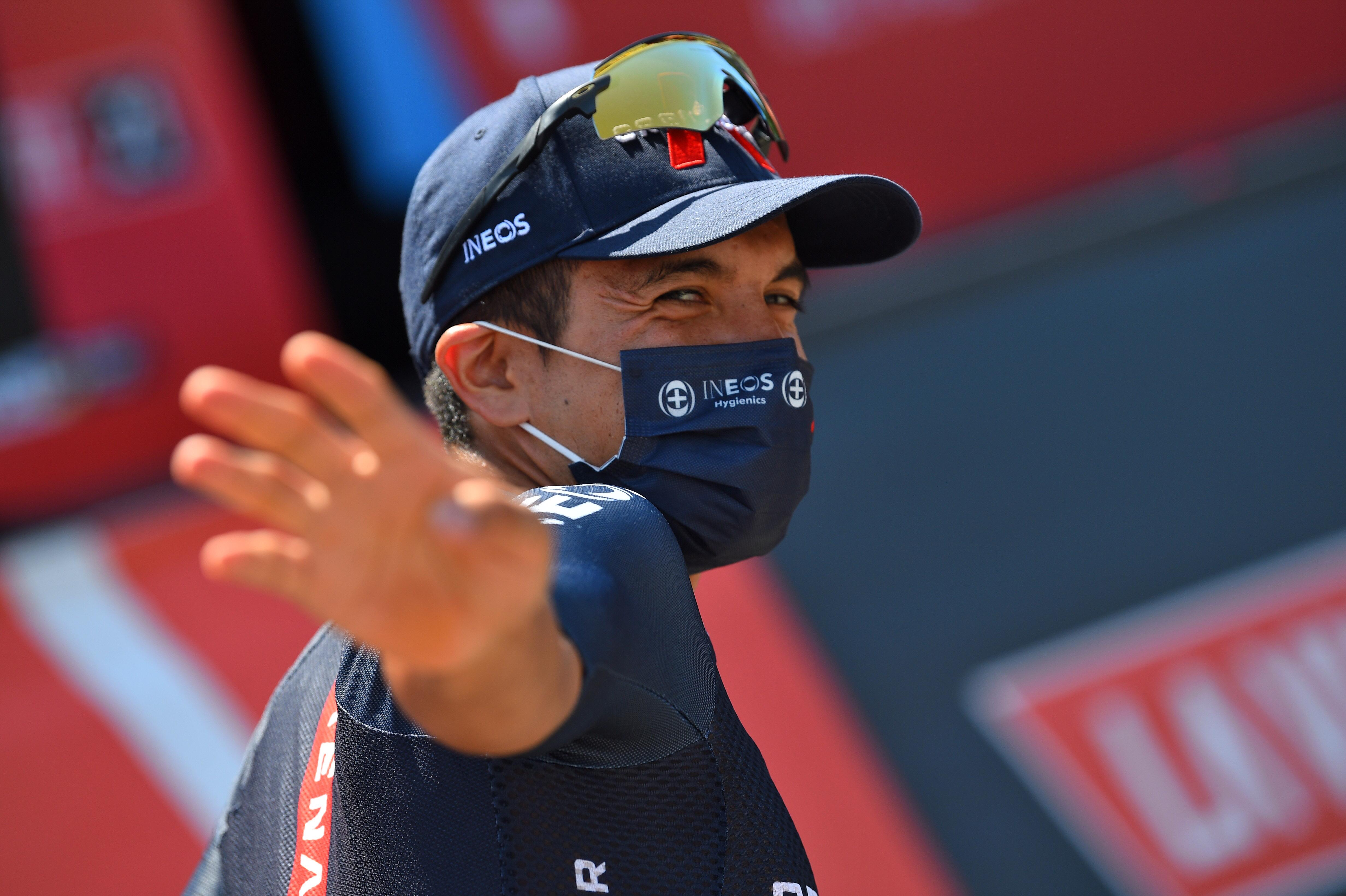 Vuelta Espana 2021 - 76th Edition - 11th stage Antequera - Valdepenas de Jaen 133,6 km - 25/08/2021 - Richard Carapaz (ECU - Ineos Grenadiers) - photo Dario Belingheri/BettiniPhoto©2021