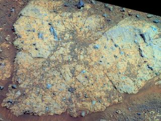 Mars' Chester Lake rock could hold clues about ancient Martian water.