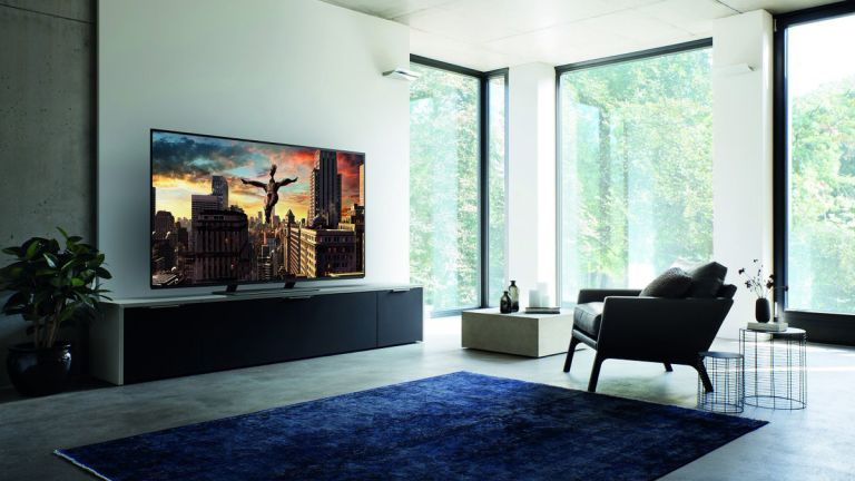 the best 55 inch TV in contemporary living room