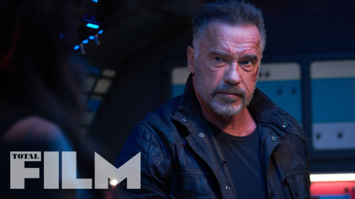 Arnold Schwarzenegger and Linda Hamilton are back in these exclusive images from Terminator: Dark Fate