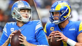Jared Goff and Matthew Stafford will play in the Lions vs Rams live stream
