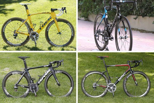 WorldTour bikes
