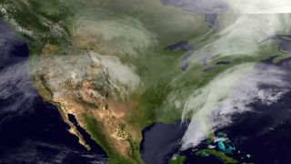 Winter Storm from Space