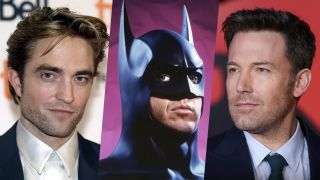 batman pattinson, keaton and affleck