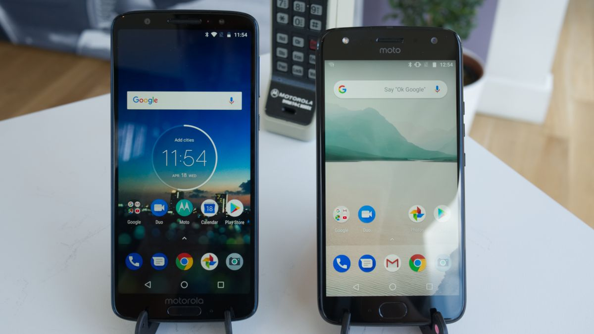 Moto G6 Vs Moto X4 There S A New Sibling For The Big Brother To Contend With Techradar