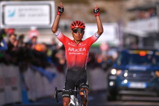 Nairo Quintana (Arkéa-Samsic) wins stage 3 of the 2020 Tour de la Provence at Chalet Reynard on Mont Ventoux