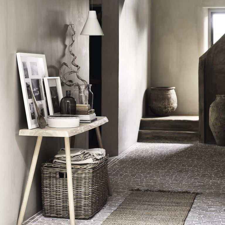 Kubu rattan box from The White Company