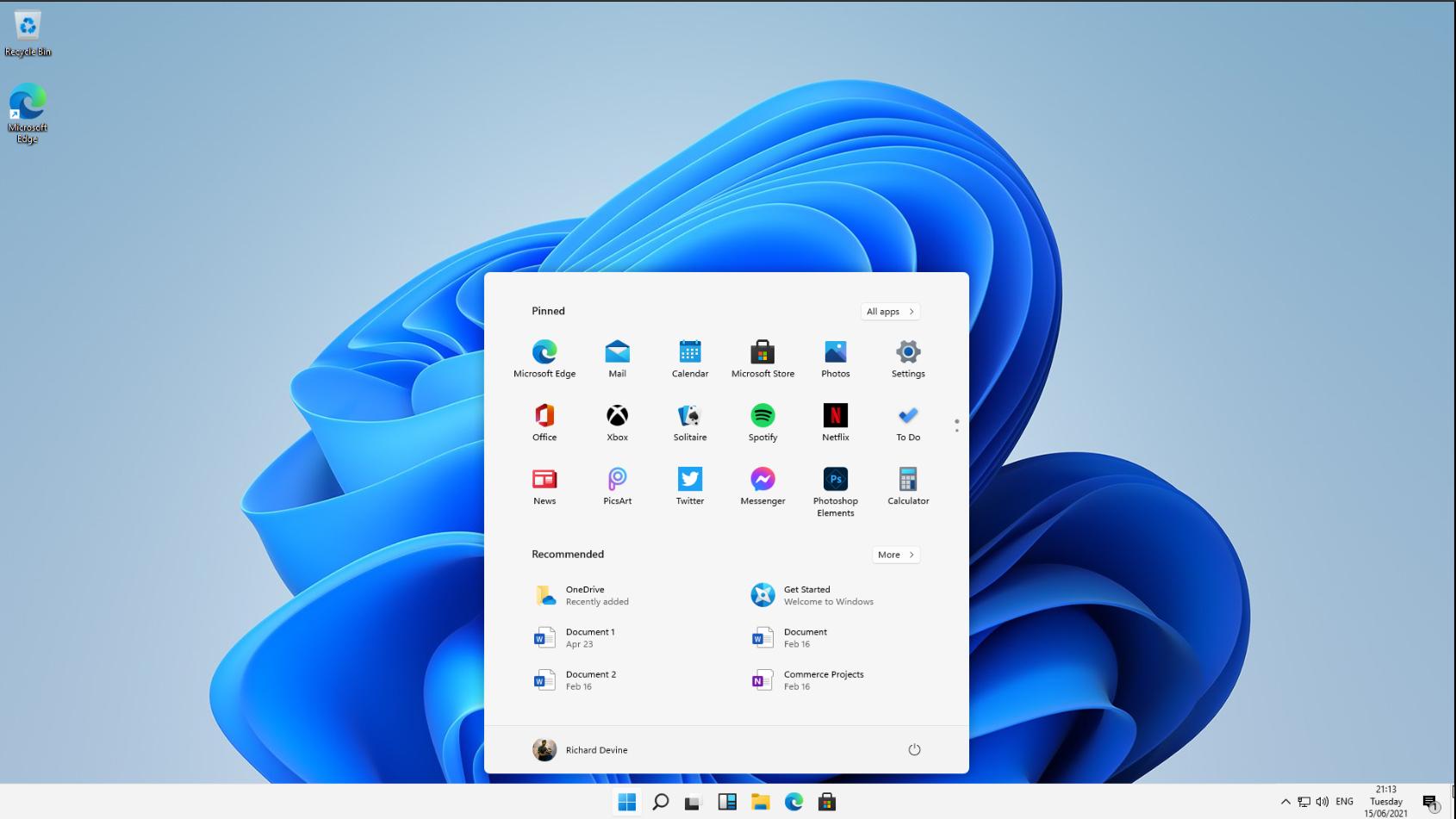 Windows 11 leak