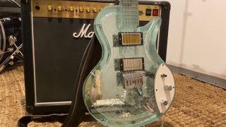 Morningstar Glass Guitars glass Les Paul-style electric guitar