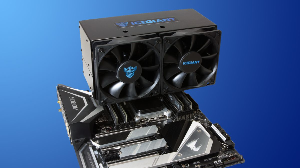 IceGiant Prototype Thermosiphon Cooler Review: Frosty New Tech