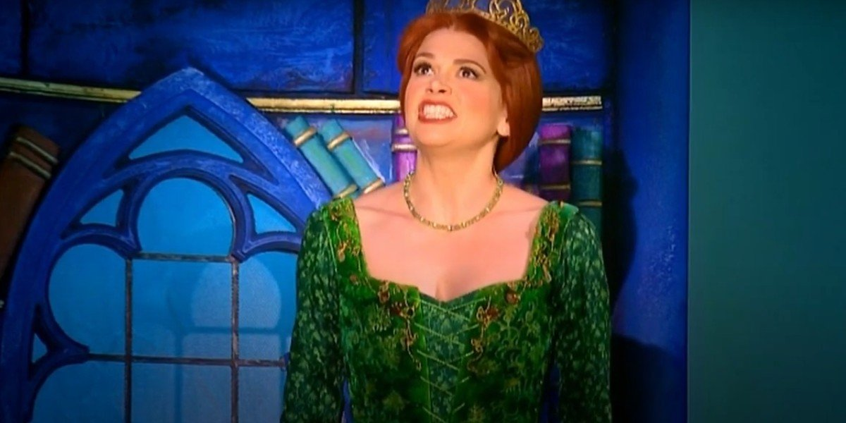 Sutton Foster in Shrek The Musical
