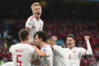 Denmark Russia Euro 2020 Soccer