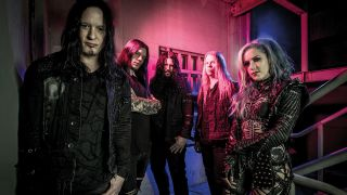 a portrait of arch enemy