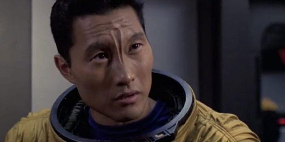 Daniel Dae Kim in Star Trek early in his career.