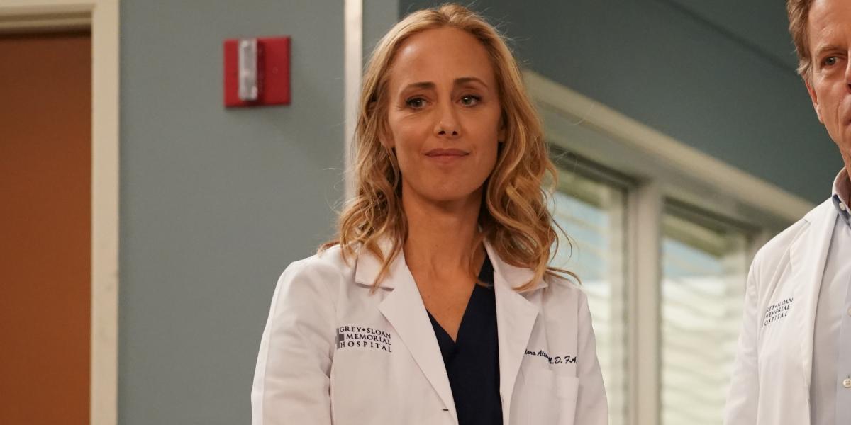 Grey's Anatomy Teddy Grace Altman Kim Raver ABC