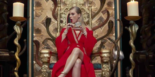 Taylor Swift LWYMMD video throne