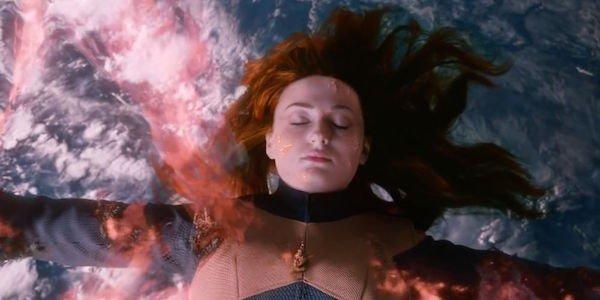 Jean in space during Dark Phoenix