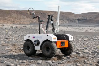 This summer, researchers tested rover and drone prototypes on lava fields in Iceland from July 8 to Aug. 5, 2019. This work will inform NASA's Mars 2020 operations team.