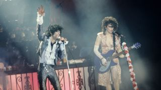 Prince and Wendy Melvoin in 1985