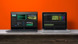 Premiere Pro and Final Cut Pro X on Windows and Mac laptops