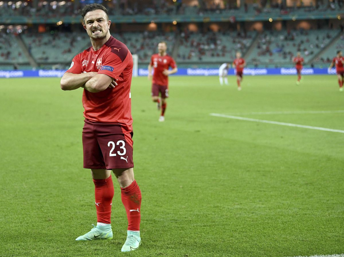 Xherdan Shaqiri at the double as Switzerland keep Euro 2020 hopes alive