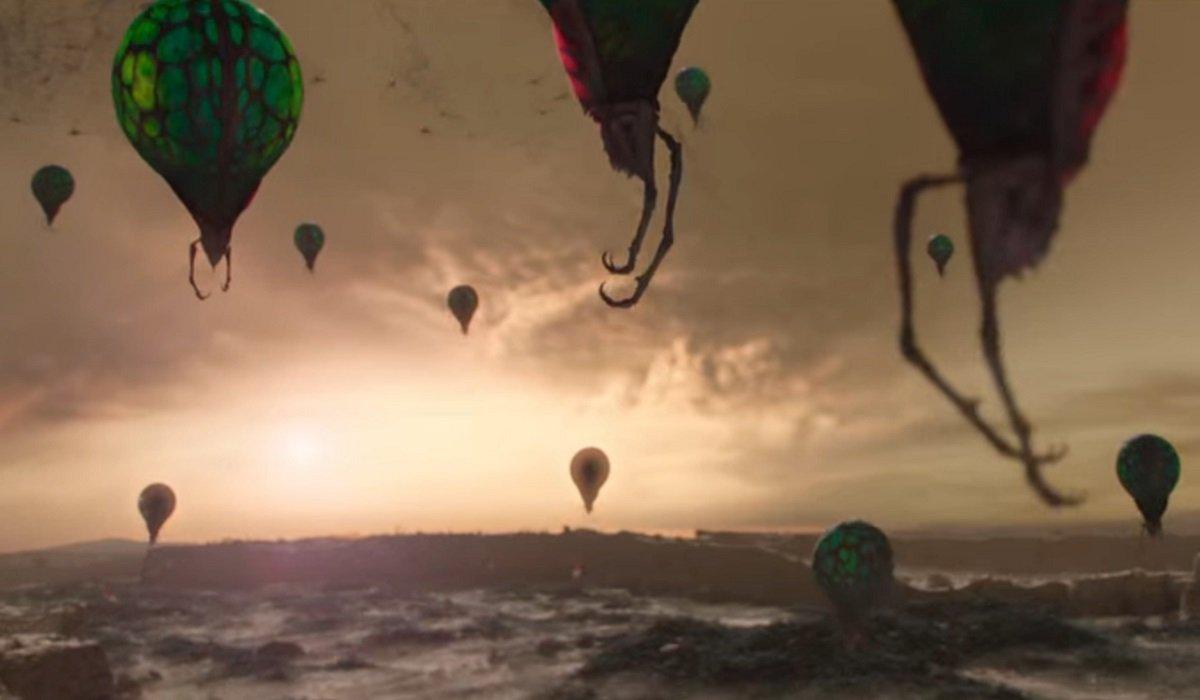 Balloon Predator Alien Worlds Netflix