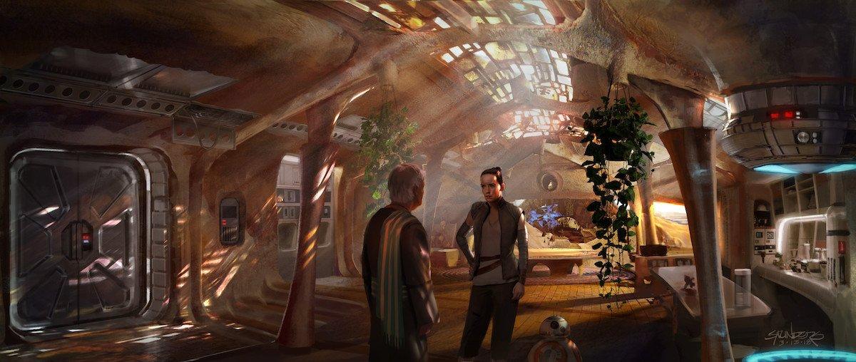 Concept art for The Rise of Skywalker