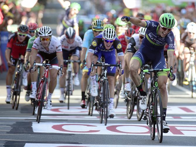 Jens Keukeleire (Orica-BikeExchange) claimed stage 12 of the Vuelta a España