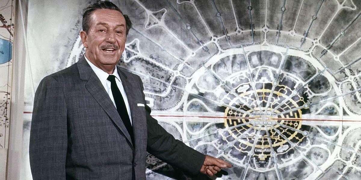 Walt Disney explaining the original EPCOT idea