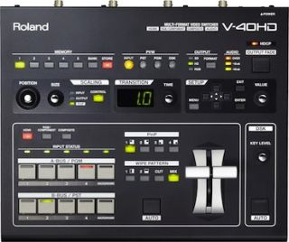 Roland Unveils Four-Channel Multi-Format Video Mixer