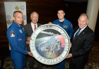 Canadian Space Agency 25th Anniversary Coin