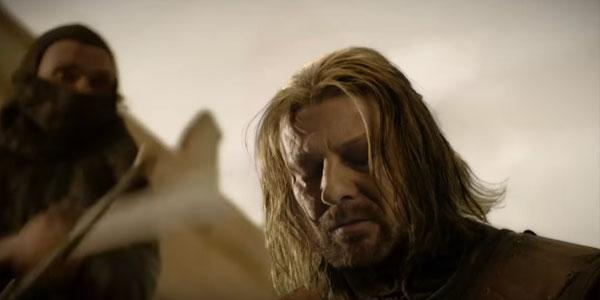 Ned Stark Sean Bean Game of Thrones HBO