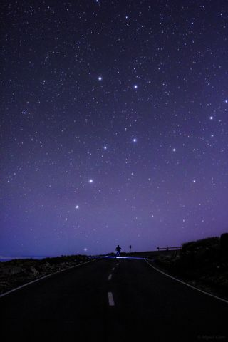 Big Dipper Over the Canary Islands
